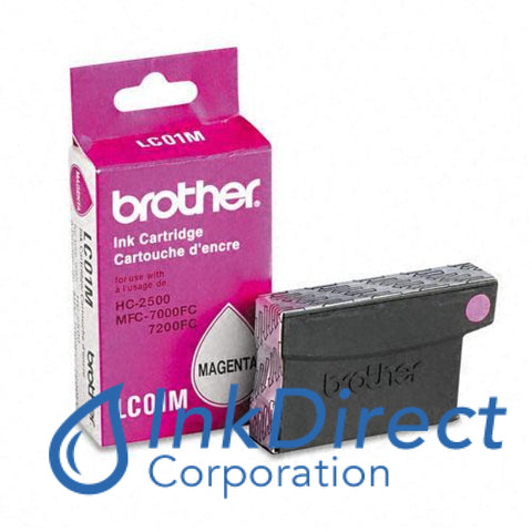 Genuine Brother Lc01M Lc-01M Ink Tank Magenta