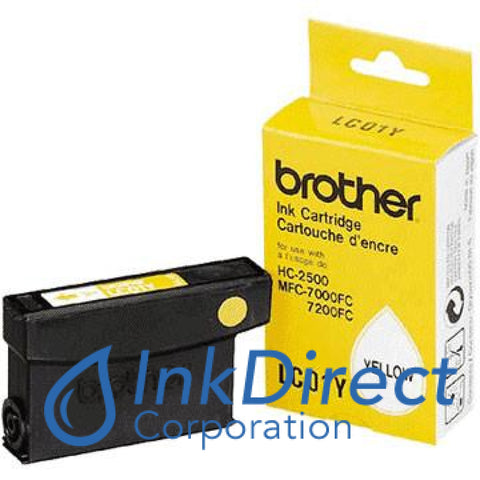 Genuine Brother Lc01Y Lc-01Y Ink Tank Yellow