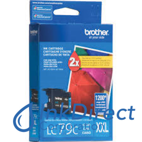 Genuine Brother Lc79C Lc-79C Ink Jet Cartridge Cyan
