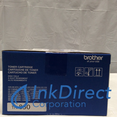 Genuine Brother TN-850 TN850 Toner Cartridge Black L5500 L6700 L6300 Toner Cartridge , Brother - Multi Function DCP L5500DN, L5600DN, L5650DN, MFC L5700DW, L5800DW, L5850DW, L5900DW, L6700DW, L6800DW, - Printer HL L5000D, L5100DN, L5200DW, L5200DWT, L6200DWT, L6300DW,