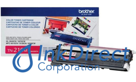 Genuine Brother Tn210M Tn-210M Toner Cartridge Magenta