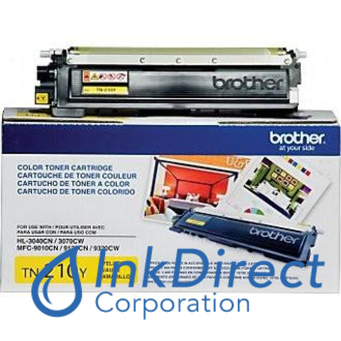 Genuine Brother Tn210Y Tn-210Y Toner Cartridge Yellow