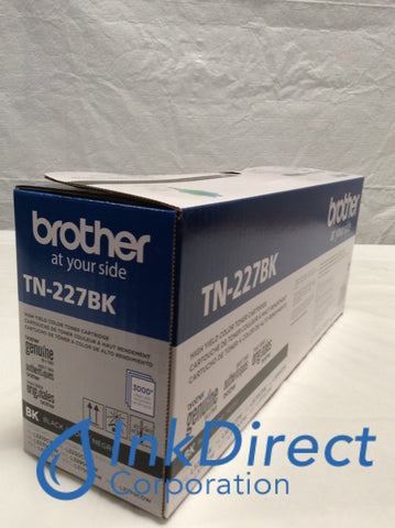 Genuine Brother TN227BK TN-227BK Toner Cartridge Black HL L3210CW L3230CDW L3270CDW L3290CDW MFC L3710CW L3750CDW L3770CDW Toner Cartridge
