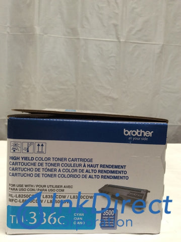 Genuine Brother TN336C TN-336C Toner Cartridge Cyan HL L8250CDN L8350CDWT MFC L8600CDW L8850CDW Toner Cartridge