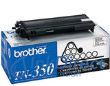 Genuine Brother Tn350 Tn-350 Toner Cartridge Black