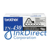 Genuine Brother Tn430 Tn-430 Standard Yield Toner Cartridge Black