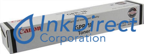 Genuine Canon 0384B003Aa Gpr-18 Toner Cartridge Black