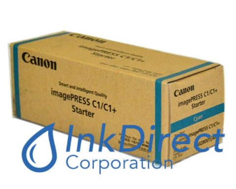 Genuine Canon 0402B001Aa Ipq-1 Developer / Starter Cyan