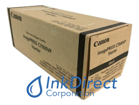 Genuine Canon 0440B001Aa Ipq-2 Developer / Starter Black Developer / Starter