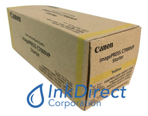 Genuine Canon 0443B001Aa Ipq-2 Developer / Starter Yellow Developer / Starter