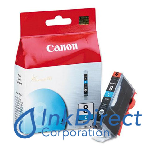 Genuine Canon 0621B002Aa Cli-8C Ink Jet Cartridge Cyan