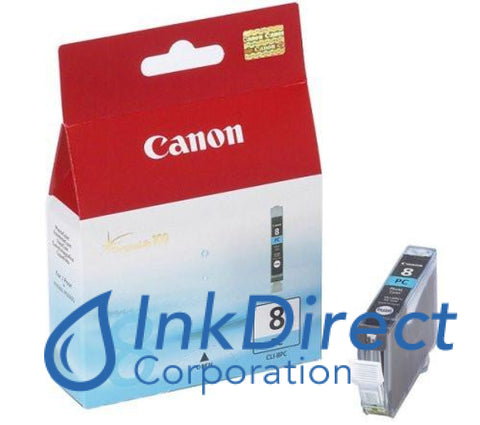 Genuine Canon 0624B002Aa Cli-8Pc Ink Jet Cartridge Photo Cyan