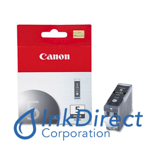 Genuine Canon 0628B002Aa Pgi-5Bk Ink Jet Cartridge Black