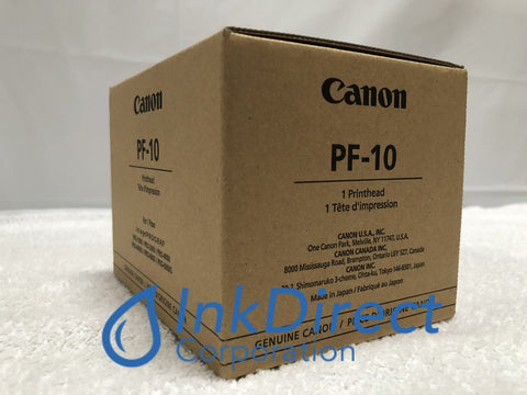 Genuine Canon 0861C003 0861C003AA PF-10 PrintHead Black & Color PrintHead , Canon   - Wide Format Printer  ImagePrograf Pro-2000,  Pro-4000,  Pro-4000S,  Pro-6000S