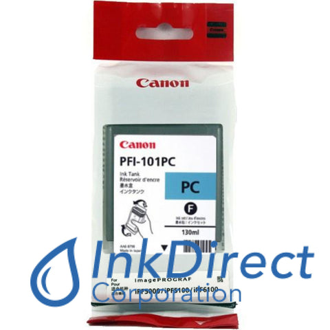 Genuine Canon 0887B001Aa Pfi-101Pc Ink Tank Photo Cyan