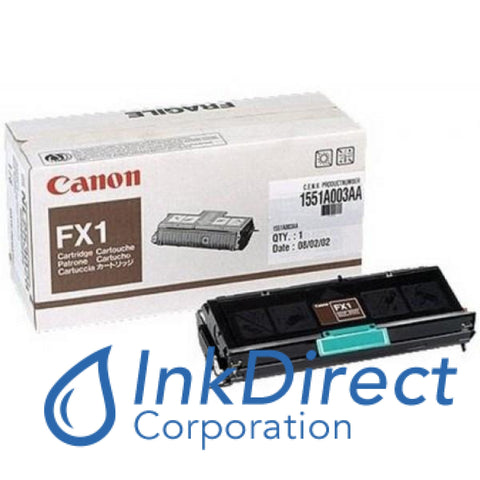 Genuine Canon 1551A002Aa Fx-1 Toner Cartridge Black