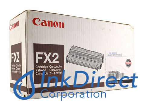 Genuine Canon 1556A002Ba Fx-2 Toner Cartridge Black