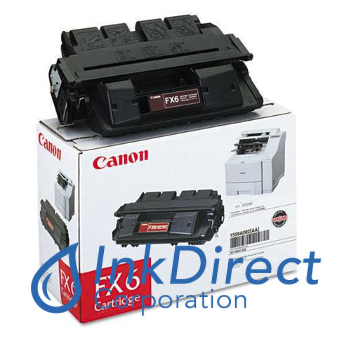 Genuine Canon 1559A002Aa Fx-6 Toner Cartridge Black