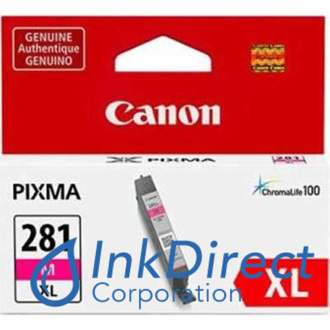 Genuine Canon 2035C001 2035C001Aa Cli-281Xl M Ink Jet Cartridge Magenta