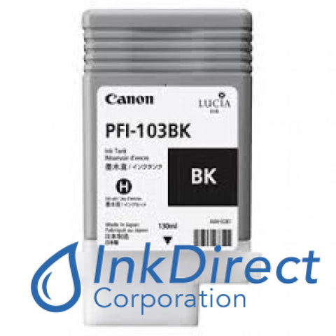 Genuine Canon 2212B001Aa Pfi-103Bk Ink Tank Black