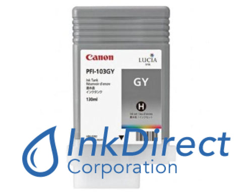 Genuine Canon 2213B001Aa Pfi-103Gy Ink Tank Gray