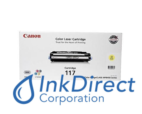 Genuine Canon 2575B001Aa 117 Crg-117Y Toner Cartridge Yellow