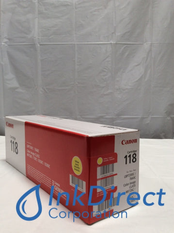 Genuine Canon 2659B001AA Canon 118 CRG-118Y Toner Cartridge Yellow LBP7200CDN LBP7660CDN MF8350CDN MF8380CDW Toner Cartridge