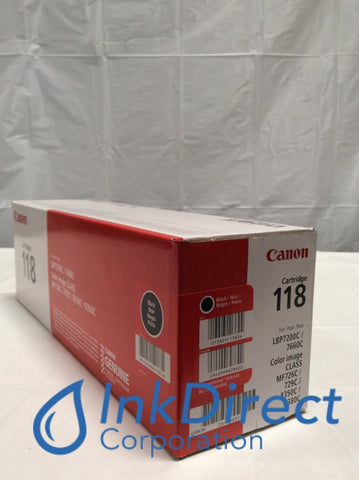 Genuine Canon 2662B001AA Canon 118 CRG-118BK Toner Cartridge Black LBP7200CDN LBP7660CDN MF8350CDN MF8380CDW Toner Cartridge