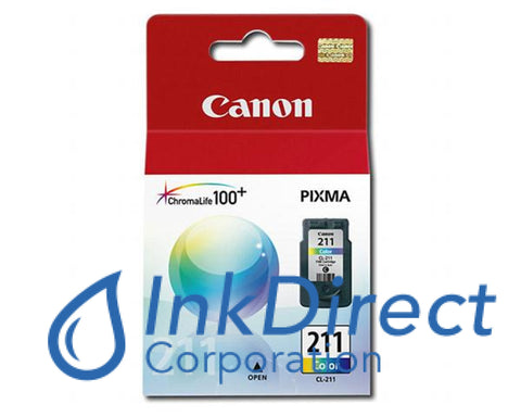 Genuine Canon 2976B001 Cl-211 Ink Jet Cartridge Color