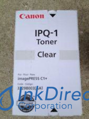 Genuine Canon 3229B003Aa Ipq-1 Toner Cartridge Clear
