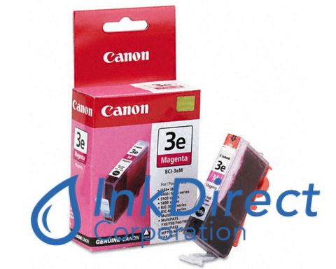 Genuine Canon 4481A003Aa Bci-3Em Ink Jet Cartridge Magenta