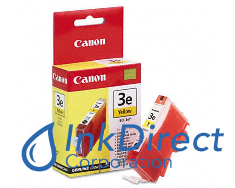 Genuine Canon 4482A003Aa Bci-3Ey Ink Jet Cartridge Yellow