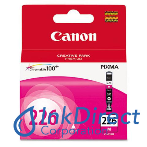 Genuine Canon 4548B001Aa Cli-226M Ink Jet Cartridge Magenta