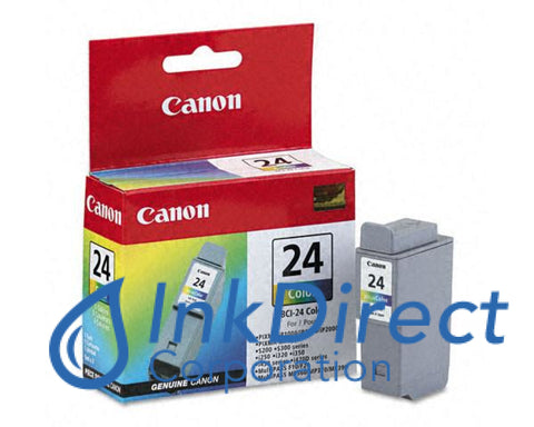Genuine Canon 6882A003Aa Bci-24C Ink Jet Cartridge Color