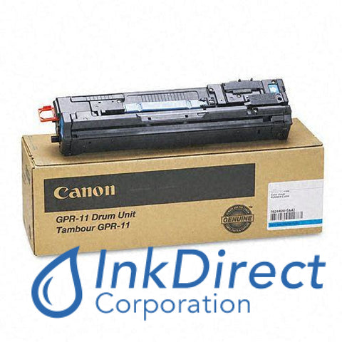 Genuine Canon 7624A001Aa Gpr-11 Drum Unit Cyan