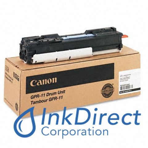 Genuine Canon 7625A001Aa Gpr-11 Drum Unit Black Canon   - Copier Digital  ImageRunner C2620,  C3200,  C3220,
