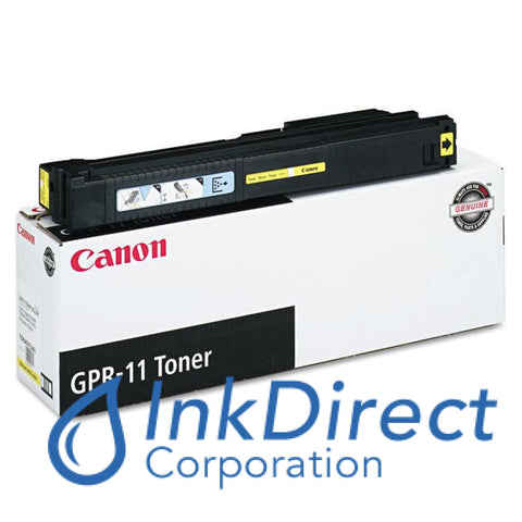 Genuine Canon 7626A001Aa Gpr-11 Toner Cartridge Yellow C2620,  C3200,  C3220,