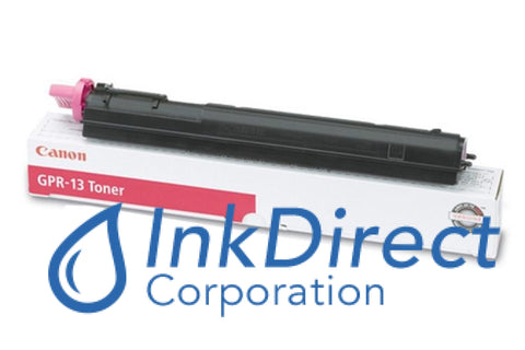 Genuine Canon 8642A003Aa Gpr-13 Toner Cartridge Magenta
