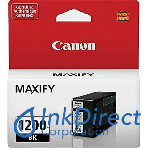 Genuine Canon 9219B001 Pgi-1200 Ink Jet Cartridge Black