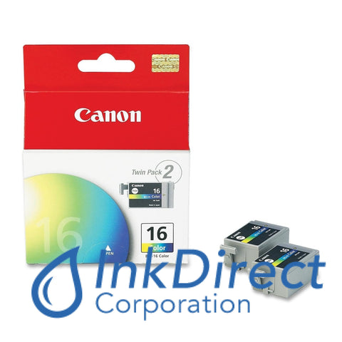 Genuine Canon 9818A003Aa Bci-16 ( C/m/y ) Ink Jet Cartridge Color