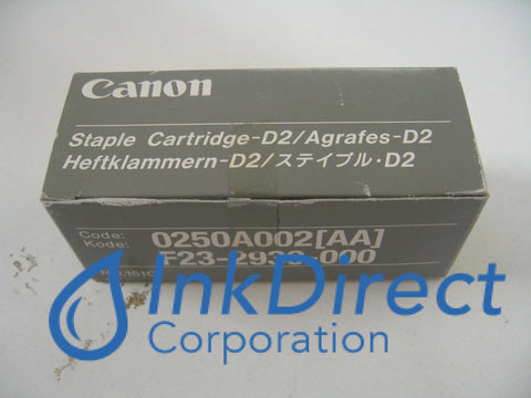 Genuine Canon F232930000 0250A002Aa D2 Staple Staples