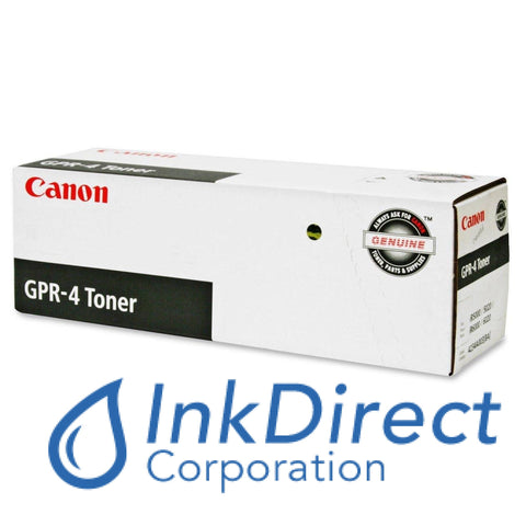Genuine Canon F424101700 4234A003Aa Gpr-4 Toner Cartridge Black