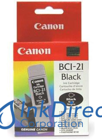 Genuine Canon F470731410 0954A003Aa 0954A003Ab Bci-21Bk Ink Jet Cartridge Black