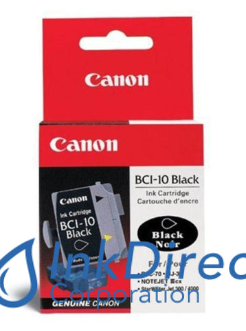 Genuine Canon F470751 0956A003Aa Bci-10 Ink Tank Black