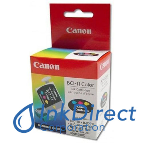 Genuine Canon F470771410 0958A003Aa Bci-11Cl Ink Tank Tri-Color