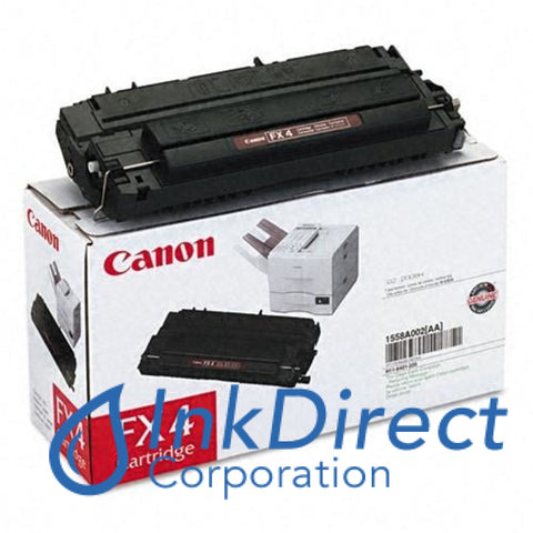 Genuine Canon H116401220 1558A002Aa Fx-4 Toner Cartridge Black
