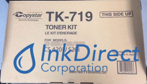Genuine Copy Star 1T02Gr0Cs0 Tk-719 Tk719 Toner Cartridge Black