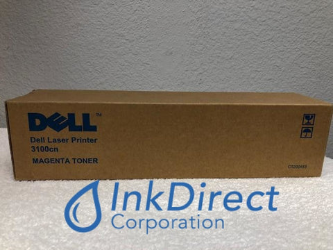 Genuine Dell 310-5730 K5363 K4972 3100Cn Ct200483 Toner Cartridge Magenta Toner Cartridge , Dell - Laser Printer 3100CN
