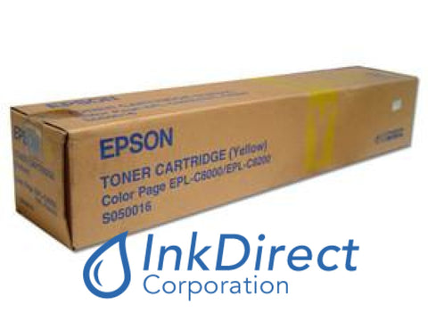 Genuine Epson S050016 Toner Yellow