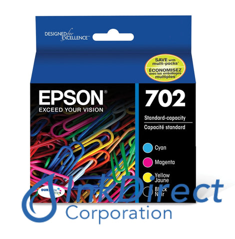 Genuine Epson T702120-Bcs Ink Jet Cartridge 4-Color Ink Jet Cartridge